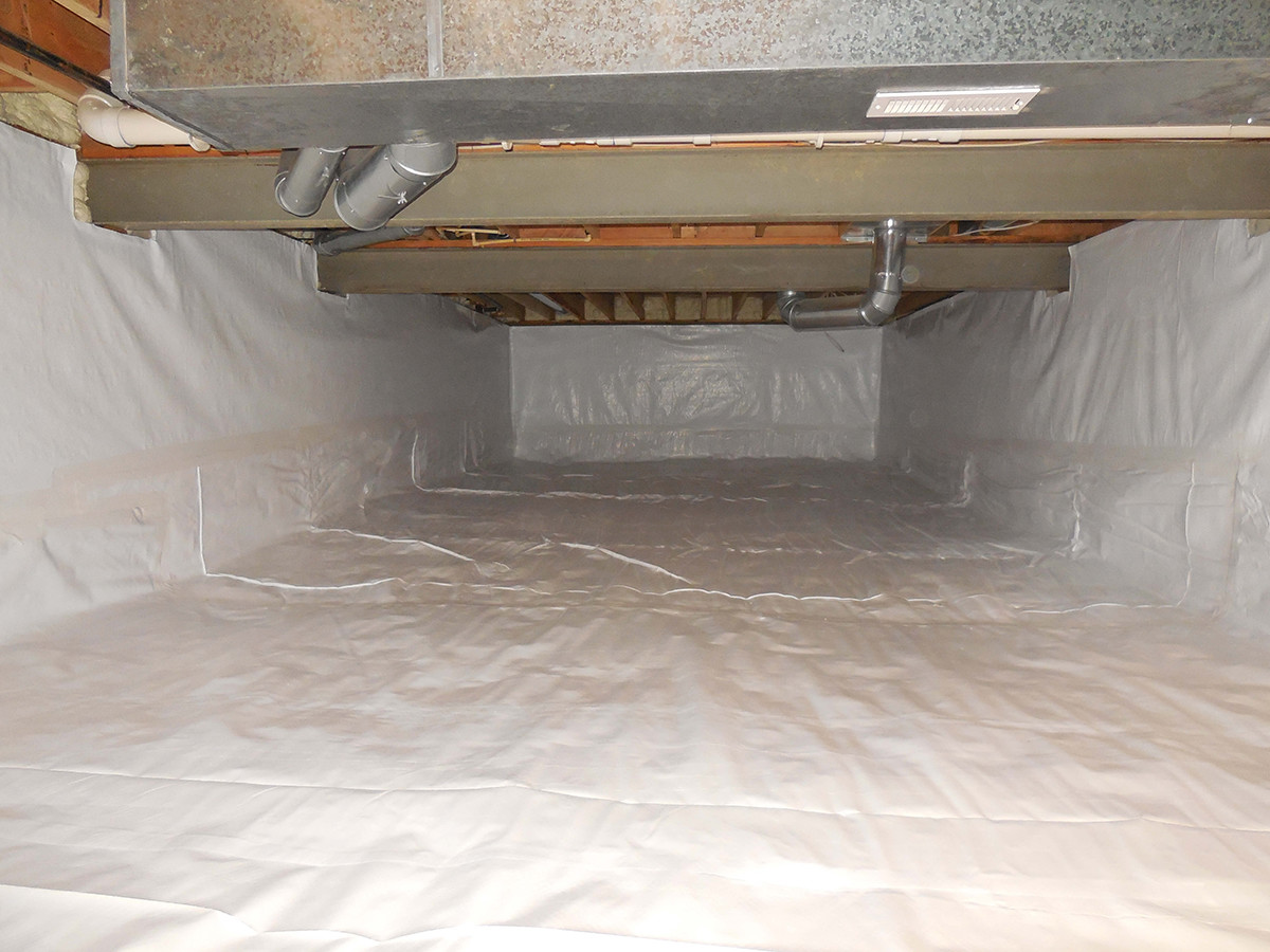 Crawl Space Installer | Vapor Barrier Encapsulation | Foundation RESQ