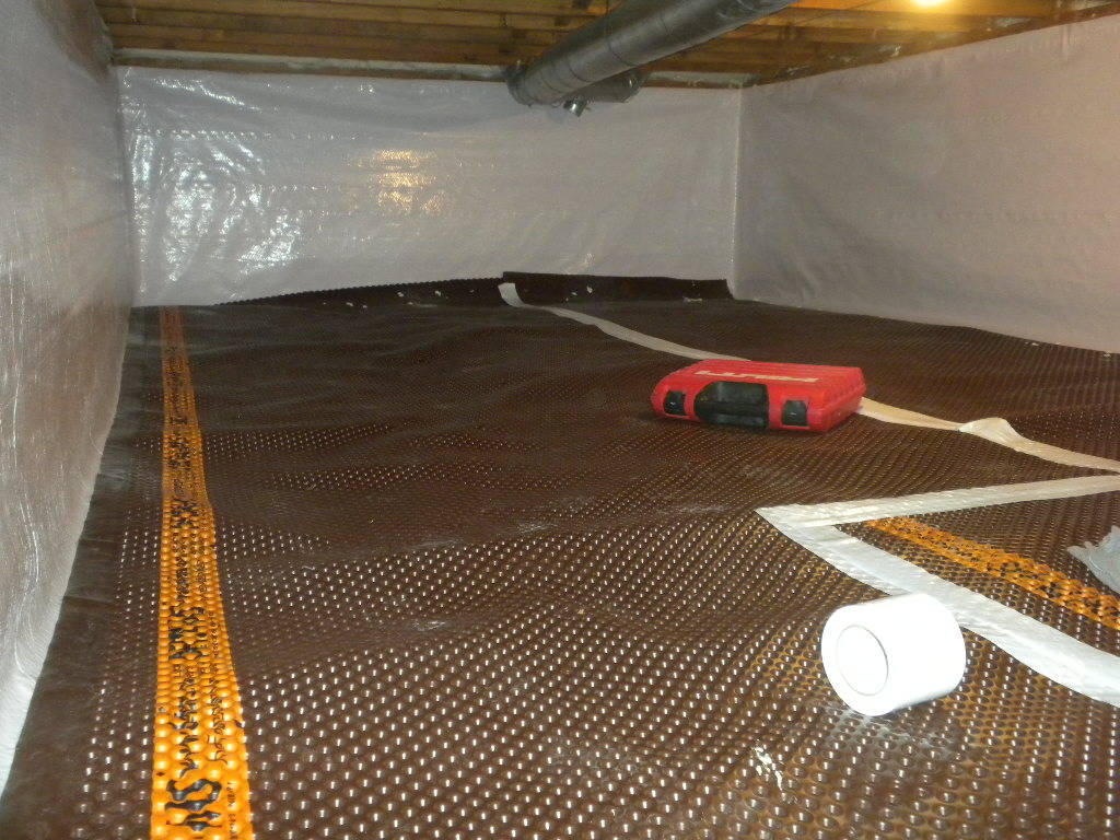 Vapor Barrier | Foundation RESQ | Crawl Space Installer