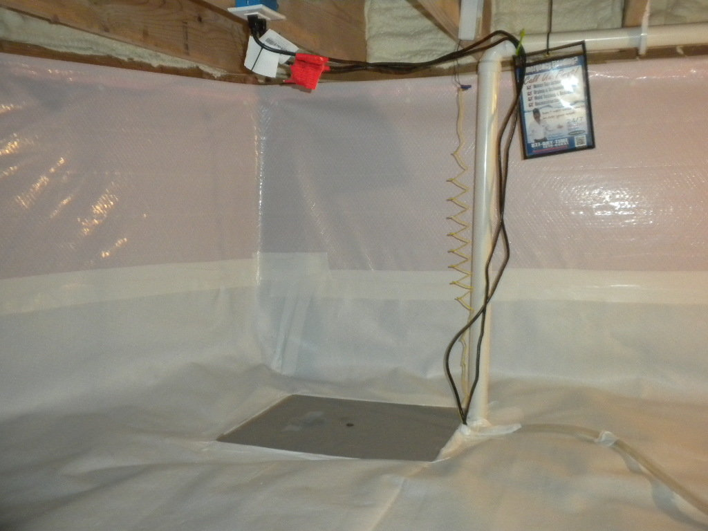 Crawl Space Encapsulation | Foundation RESQ | Sump Pump