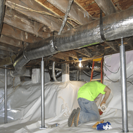 Foundation RESQ | Sagging Floors | Crawl Space Service