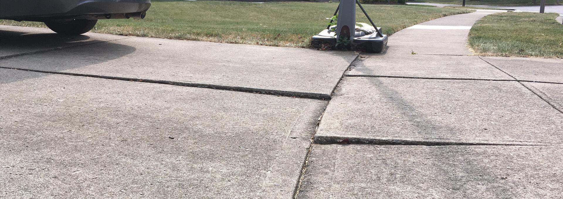 Foundation ResQ | Uneven Driveway | Concrete Leveling