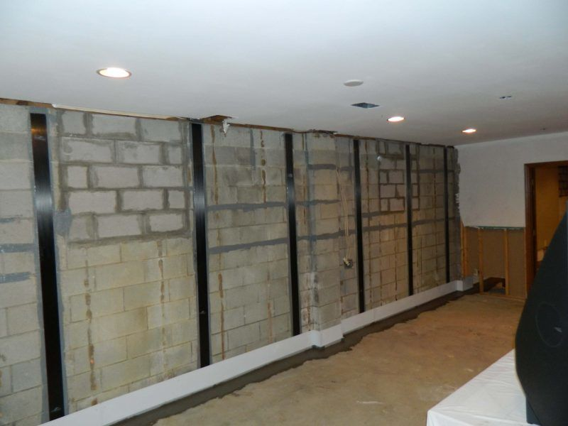 Bowing Walls | Carbon Fiber | Local Foundation Company | Foundation ResQ